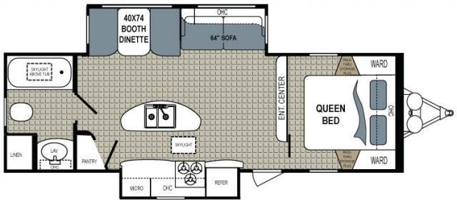 Model Floorplan 1